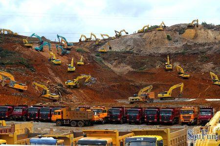 土石方挖运工程